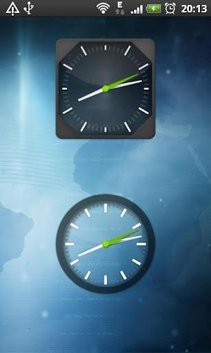 Clock Widget Pack Glass - Imagem 1 do software