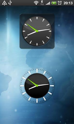 Clock Widget Pack Glass - Imagem 2 do software