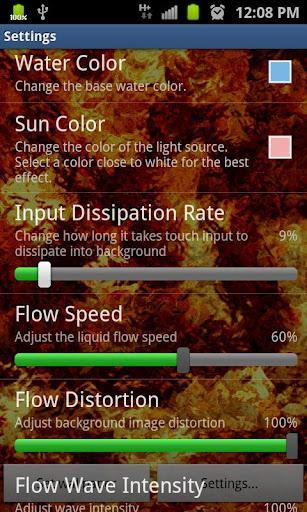 Flow Live Wallpaper Lite - Imagem 1 do software