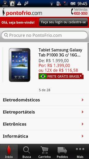 Pontofrio.com - Imagem 2 do software