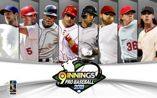 9 Innings: 2013 Pro Baseball - Imagem 1 do software