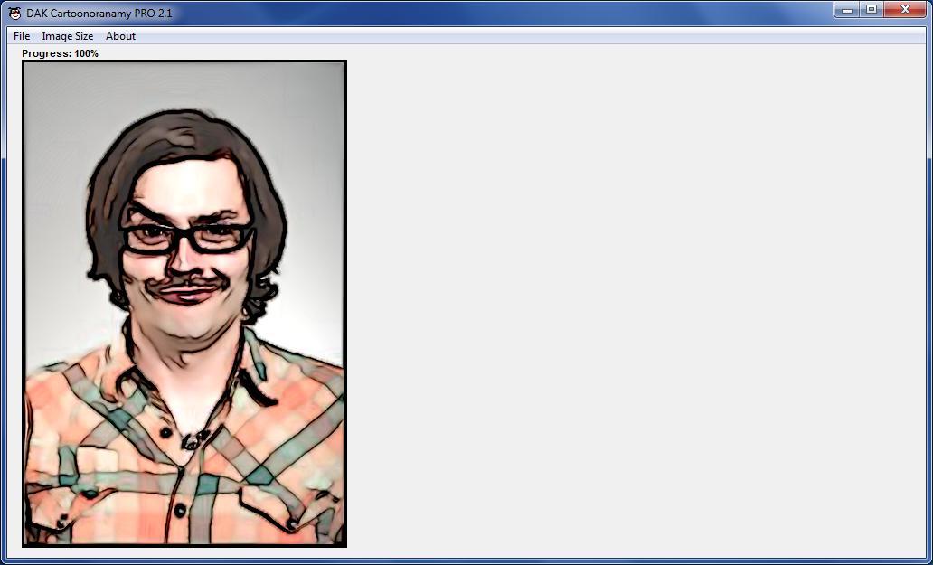 Cartoon Make-Over - Imagem 1 do software
