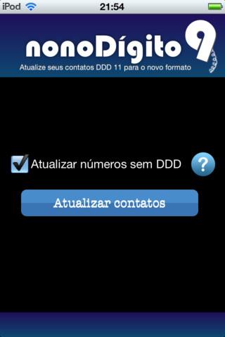 Nono Dígito SP - Imagem 1 do software