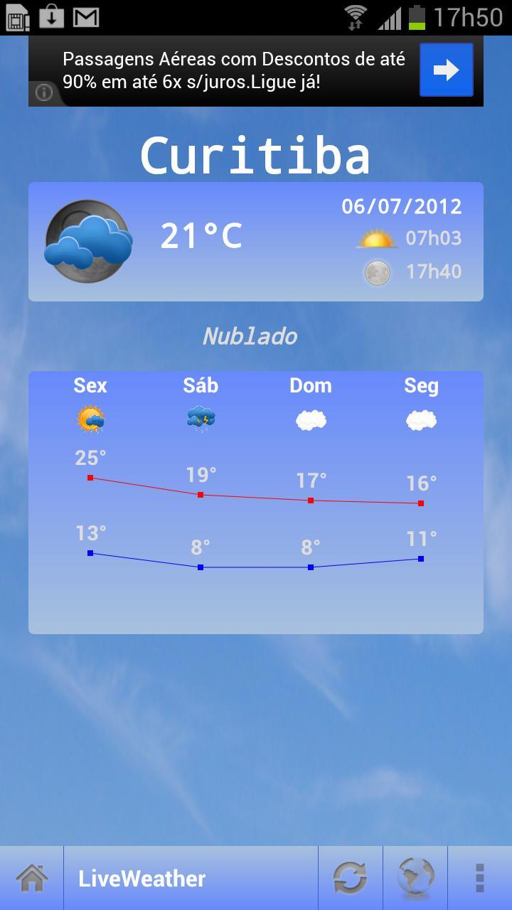 Live Weather - Imagem 1 do software