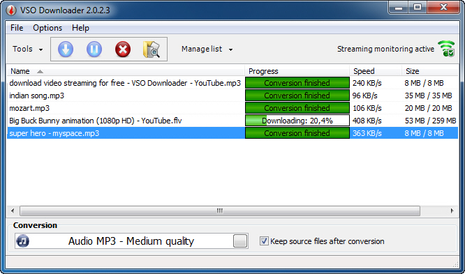 VSO Downloader - Imagem 1 do software
