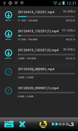VA High Speed Downloader - Imagem 1 do software