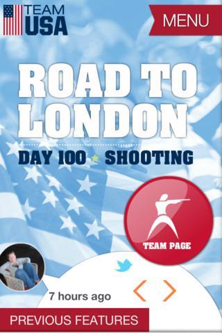 2012 Team USA Road to London Olympics - Imagem 1 do software