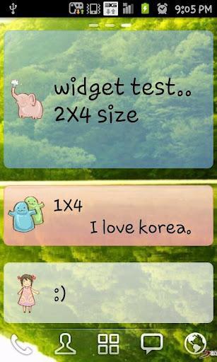 Cute memo - Imagem 1 do software