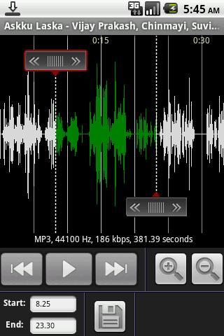 Mp3 To RingTone - Imagem 1 do software