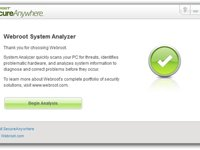 Imagem 3 do Webroot System Analyzer