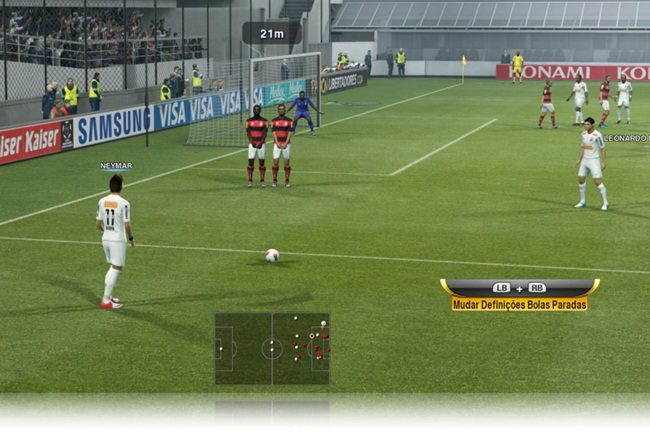 Pro Evolution Soccer 2013 - Imagem 3 do software