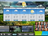 Imagem 2 do The Weather Channel App for Windows