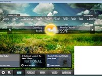 Imagem 1 do The Weather Channel App for Windows