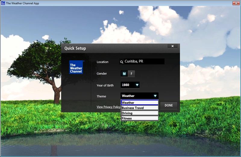 the weather channel desktop app windows 7