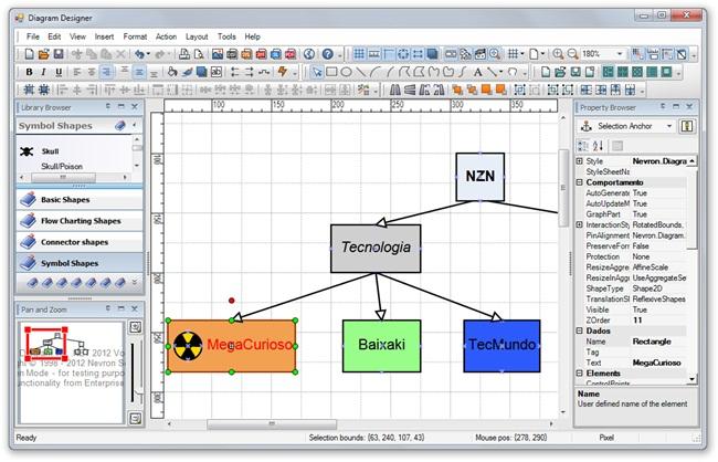 Nevron Diagram Designer - Imagem 1 do software