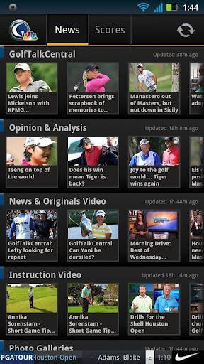 Golf Channel Mobile - Imagem 1 do software