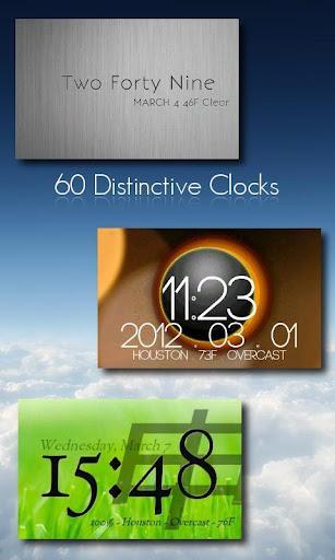One More Clock Widget - Imagem 1 do software