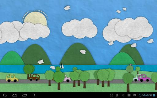 Paperland Live Wallpaper - Imagem 1 do software
