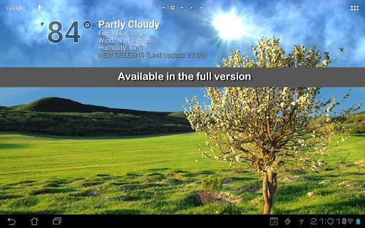 True Weather LWP Free - Imagem 1 do software
