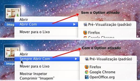 OS X: como configurar um programa-padrão para abrir um tipo
