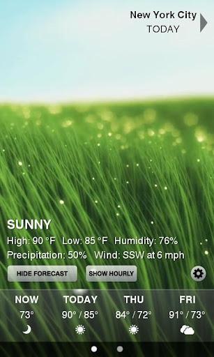 Weather HD Free - Imagem 1 do software
