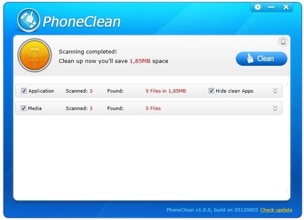 PhoneClean.