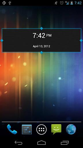 SD DigiClock Widget - Imagem 2 do software