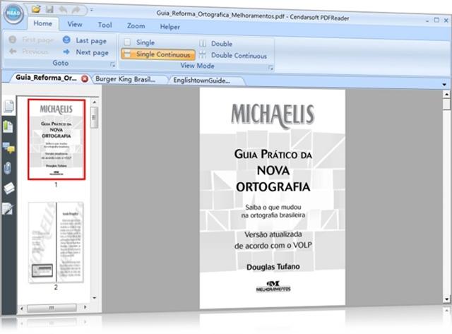 Cendarsoft PDF Reader - Imagem 1 do software