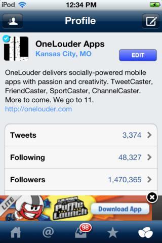 TweetCaster - Imagem 3 do software