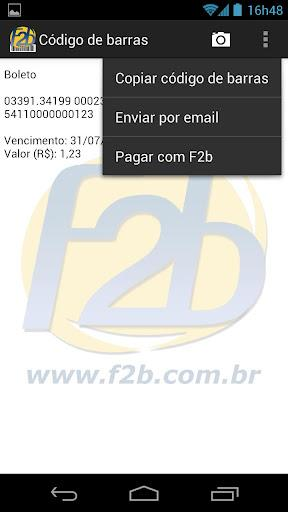 F2b Reader - Imagem 1 do software
