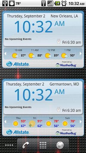 WeatherBug Time & Temp widget - Imagem 1 do software