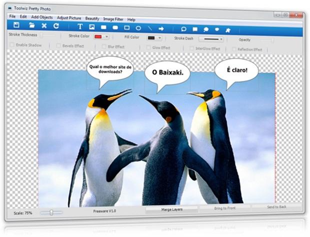 Toolwiz Pretty Photo - Imagem 1 do software