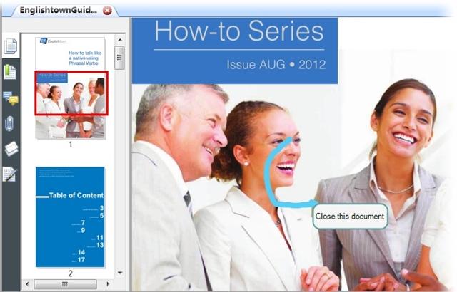 Cendarsoft PDF Reader - Imagem 3 do software