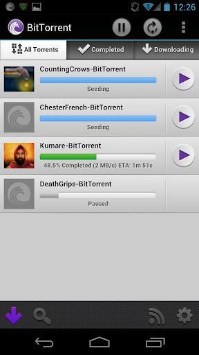 BitTorrent Torrent Downloads - Imagem 1 do software