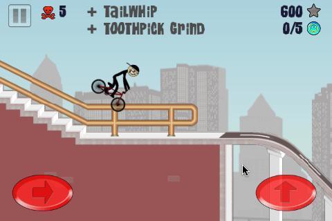 Stickman BMX Free - Imagem 2 do software