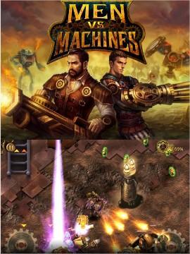 Men vs Machines - Imagem 1 do software