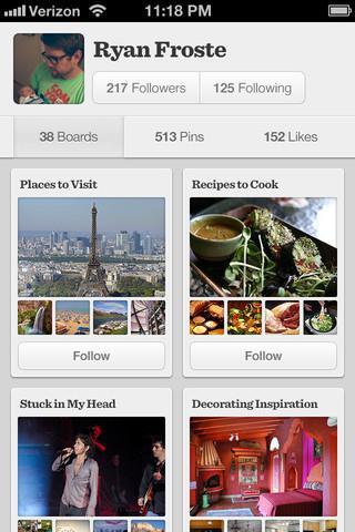 Pinterest - Imagem 1 do software