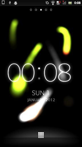 Ambient Time Live Wallpaper - Imagem 1 do software