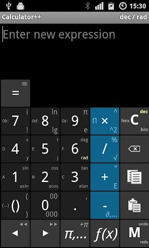 Calculator++ - Imagem 1 do software