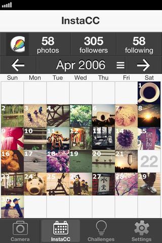 InstaCC - Calendar & Challengs for Instagram - Imagem 2 do software