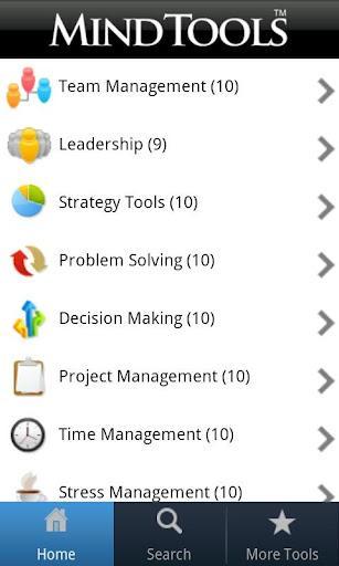 Mind Tools - Imagem 1 do software