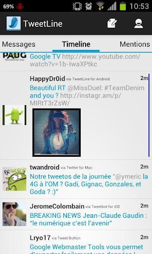 TweetLine Premium (Twitter) - Imagem 1 do software