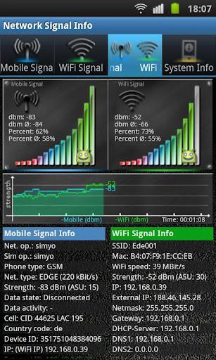 Network Signal Info - Imagem 2 do software