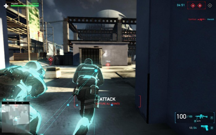 Tom Clancys Ghost Recon Online.