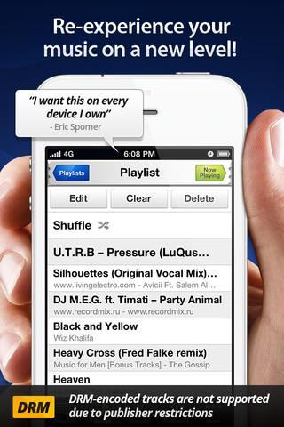 Audio Xciter - DSP Enhanced Music Player - Imagem 2 do software