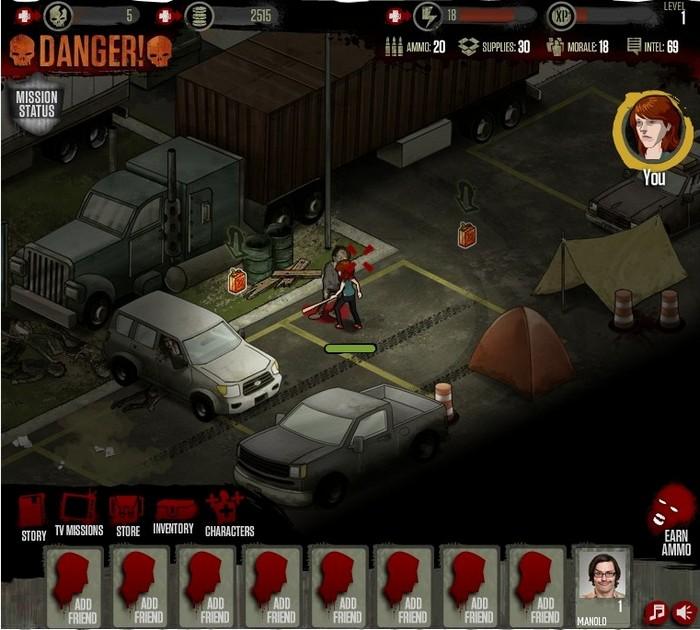 AMC The Walking Dead Social Game.