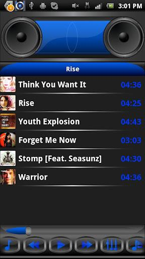 BoomBoxoid Music Player HQ - Imagem 2 do software