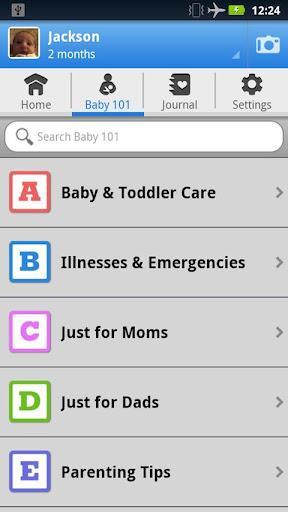 WebMD Baby - Imagem 2 do software
