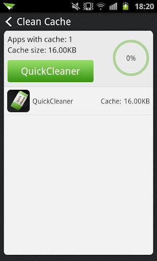 QuickCleaner - Imagem 2 do software