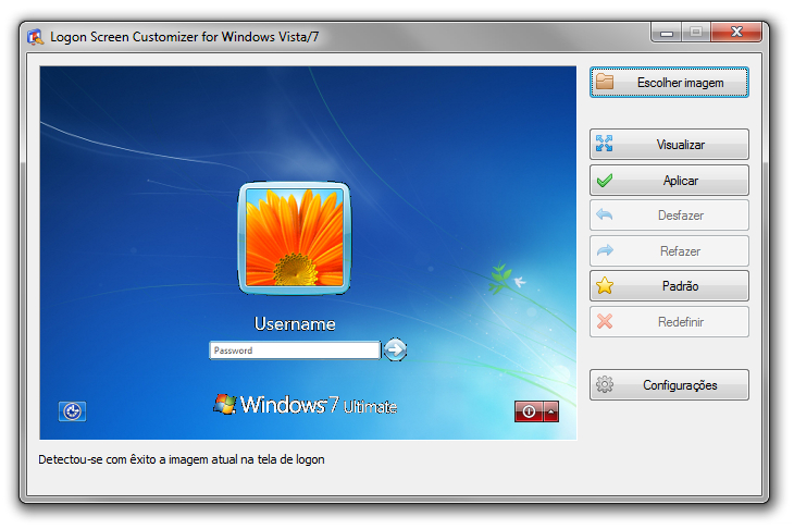VSLogonScreenCustomizer - Imagem 2 do software